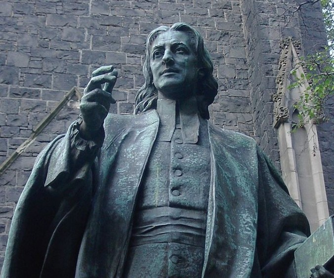 John Wesley, statue at Wesley Church, Melbourne